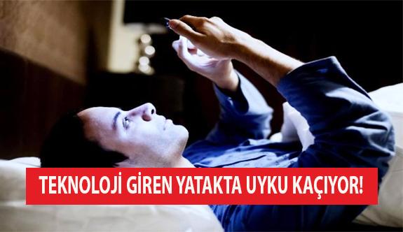 Teknoloji Giren Yatakta Uyku Kaçıyor!