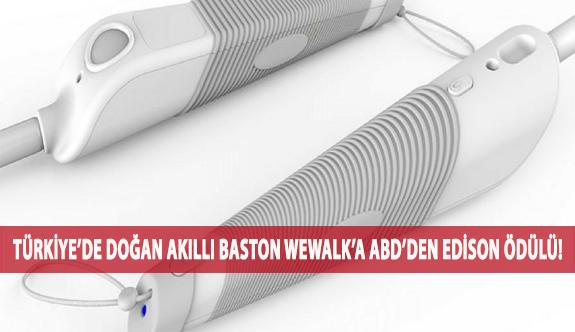 Türkiye'de Doğan Akıllı Baston WeWALK'a ABD'den Edison Ödülü!