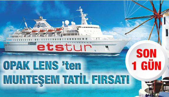 Vizesiz Yunan Adaları Tatili İçin SON 1 GÜN!