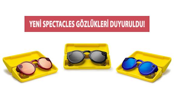Yeni Spectacles Gözlükleri Duyuruldu!