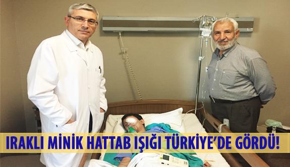 Iraklı Minik Hattab Işığı Türkiye'de Gördü!