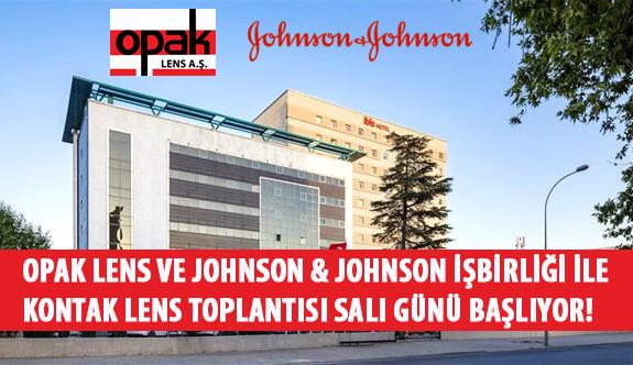 Opak Lens ve Johnson & Johnson İşbirliği İle Kontak Lens Toplantısı Salı Günü Başlıyor