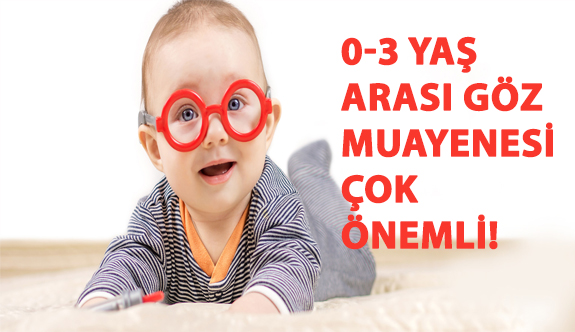 0-3 Yaş Arası Göz Muayenesi Çok Önemli!