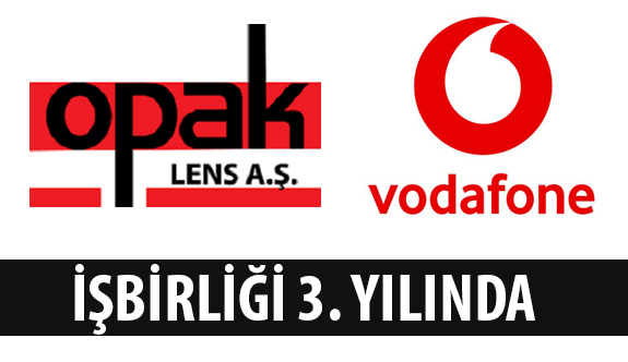 Opak Lens, Vodafone İle İşbirliğini Devam Ettiriyor