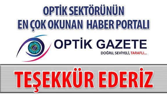 Optik Sektörünün En Çok Okunan Haber Portalı: Optik Gazete