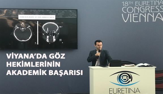 Viyana'da Göz Hekimlerinin Akademik Başarısı