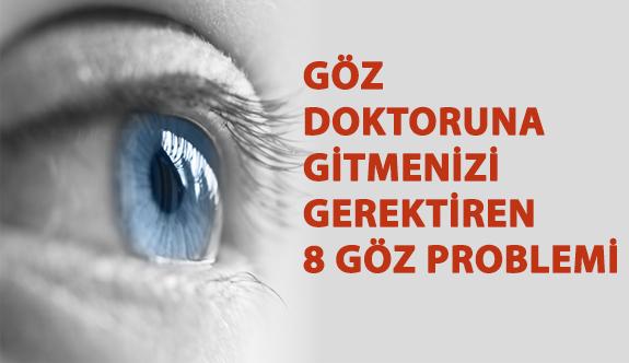 Göz Doktoruna Gitmenizi Gerektiren 8 Göz Problemi!