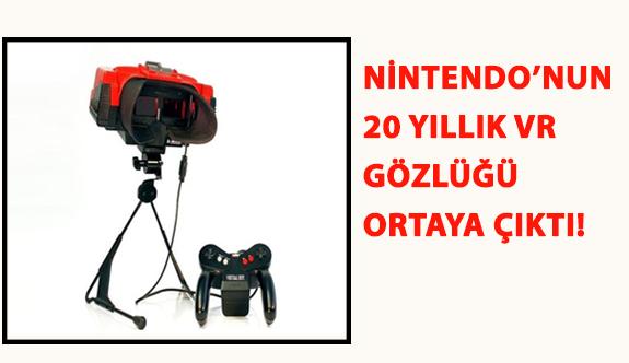 Nintendo'nun 20 Yıllık VR Gözlüğü Ortaya Çıktı!