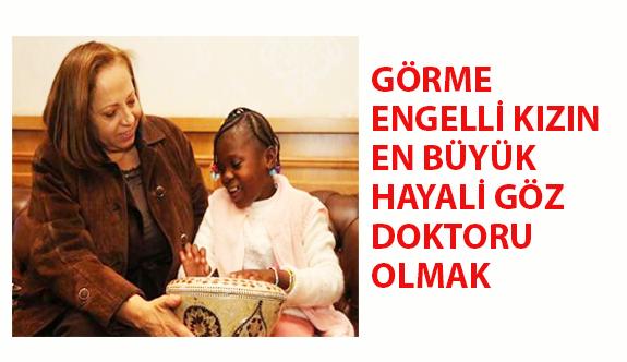 Görme Engelli Rouamba'nın En Büyük Hayali Göz Doktoru Olmak
