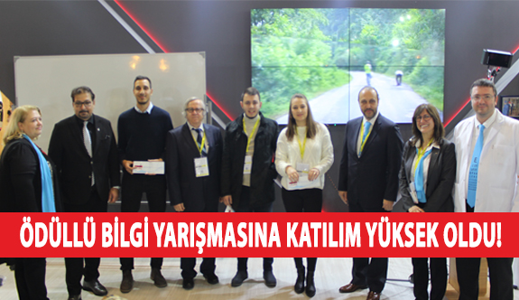 Ödüllü Bilgi Yarışmasına Katılım Yüksek Oldu!