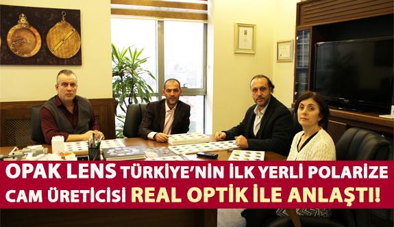 Opak Lens Türkiye'nin İlk Yerli Polarize Cam Üreticisi Real Optik İle Anlaştı!