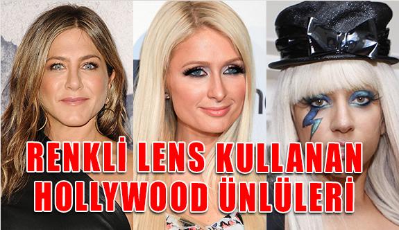 Renkli Lens Kullanan Hollywood Ünlüleri