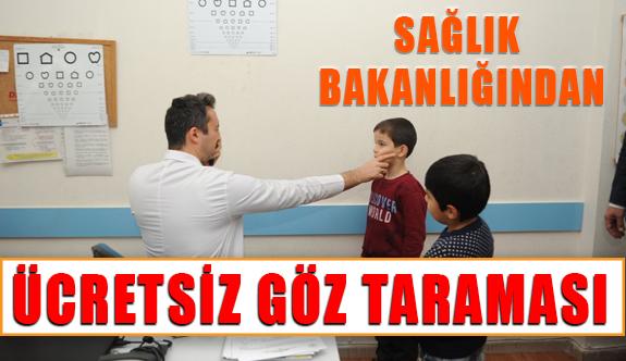 Sağlık Bakanlığı Ücretsiz Göz Taraması Başlattı