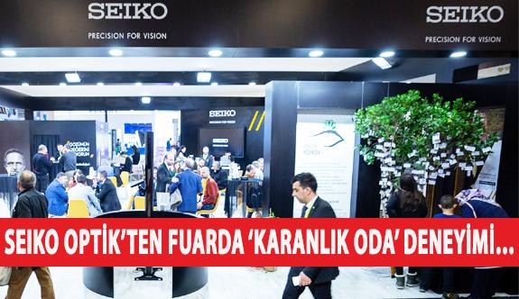 SEIKO Optik'in Silmo İstanbul'daki 'Karanlık Oda' Deneyimi Göz Sağlığına Dikkat Çekti