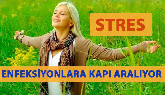 Stres Enfeksiyonlara Kapı Aralıyor!