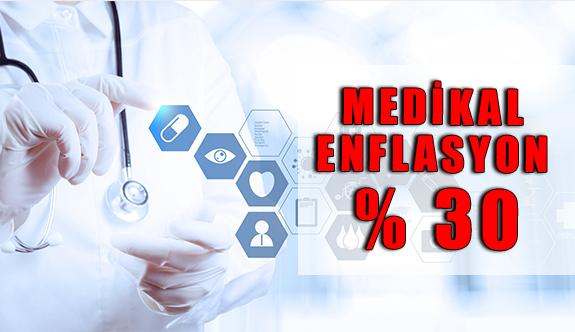 2018'de Medikal Enflasyon Yüzde 30 Düzeylerinde Gerçekleşti.