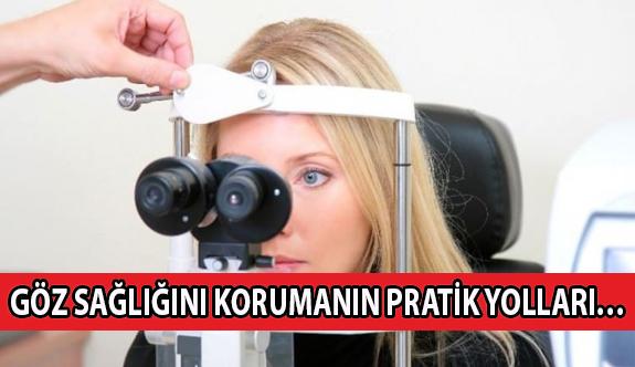 Göz Sağlığını Korumanın Pratik Yolları…