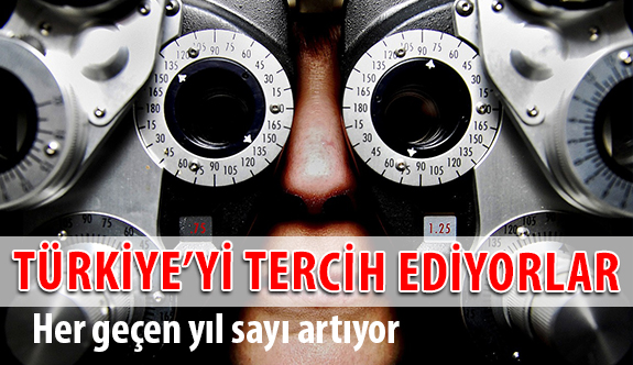 Göz Tedavilerinde Yabancı Hastaların İlk Tercihi Türkiye