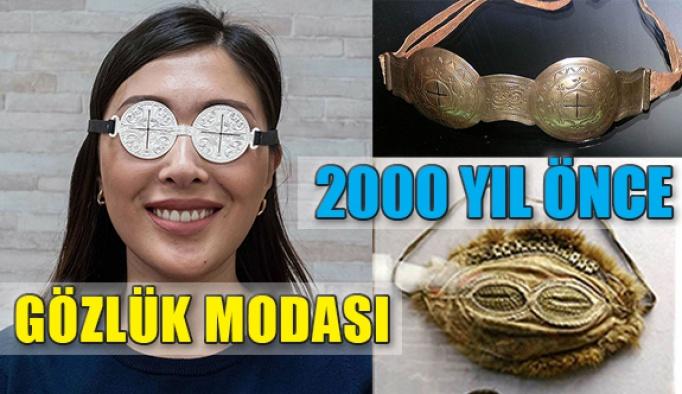 2.000 Yıl Öncesinden Göz Kamaştırıcı Gözlük Modası