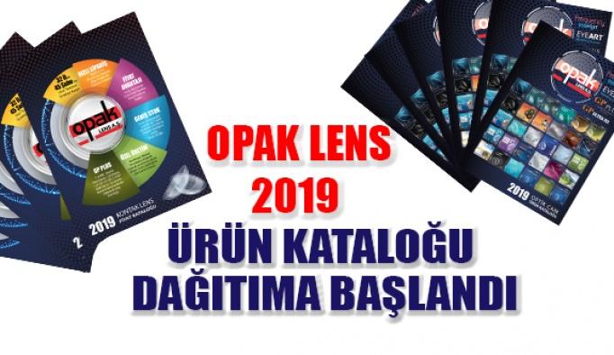 Opak Lens 2019 Ürün Kataloğu Dağıtımına Başlandı