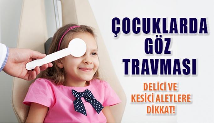 Çocuklarda Göz Travması Glokoma Neden Olabilir!