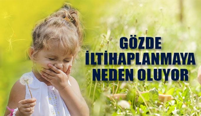 Çocuklarda Polen Alerjisi Göz İltihabına Neden Oluyor