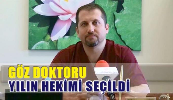 Göz Doktoru Doç. Dr. Necati Duru Yılın Hekimi Seçildi
