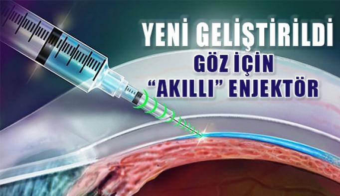 Göz için 'akıllı' enjektör geliştirildi