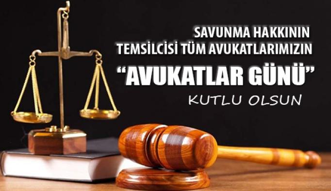 5 Nisan Avukatlar Günü Kutlu Olsun