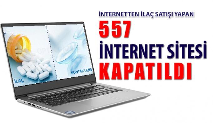 İlaç Satışı Yapan 557 İnternet Sitesi Kapatıldı