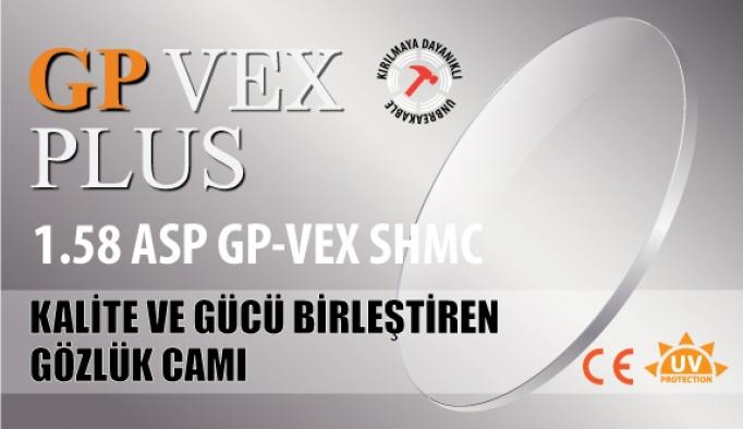 Kalite Ve Gücü Birleştiren Gözlük Camı: GP-VEX