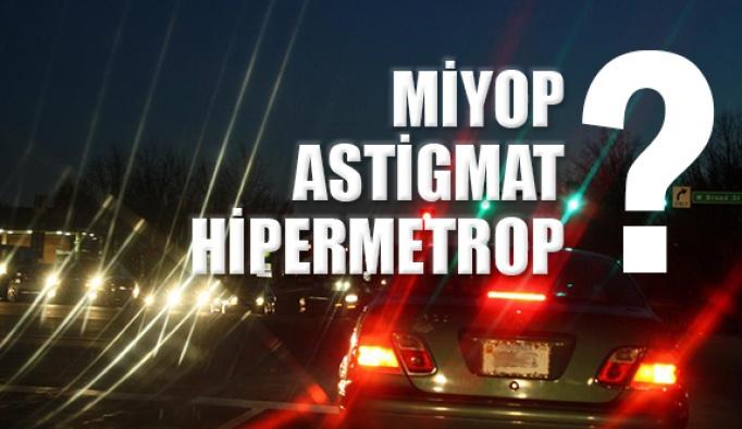 Miyop, Hipermetrop, Astigmat Nedir? Nasıl Tedavi Edilir?