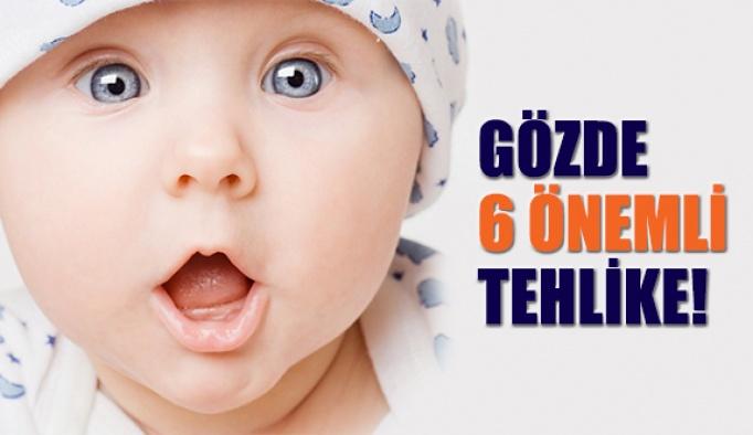 Bebek Gözlerindeki 6 önemli tehlikeye dikkat