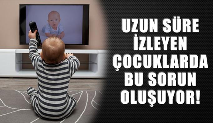 Çok Fazla Ekrana Maruz Kalan Çocuklarda Görülüyor
