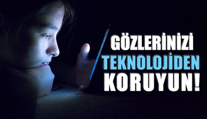 Gözlerinizi Teknolojik Mavi Işıktan Koruyun