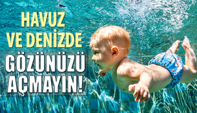 Havuz Ve Deniz Göz Enfeksiyonlarına Neden Olabilir
