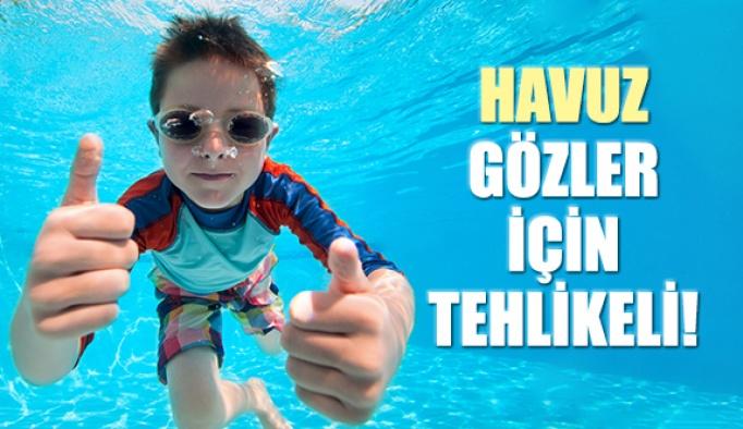 Havuzdan Bulaşan Göz Hastalıklarına Dikkat!