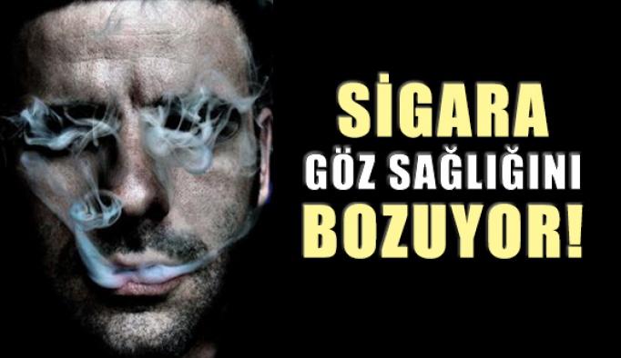 Sigara Göz Sağlığını Bozuyor
