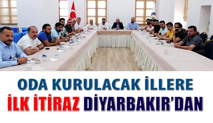 Oda Ve Birlik Yönetimine İlk İtiraz Diyarbakır'dan Geldi
