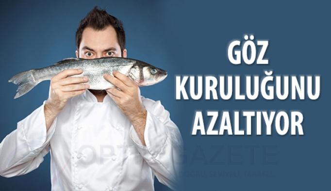 Balık Tüketimi Göz Kuruluğunu Azaltıyor