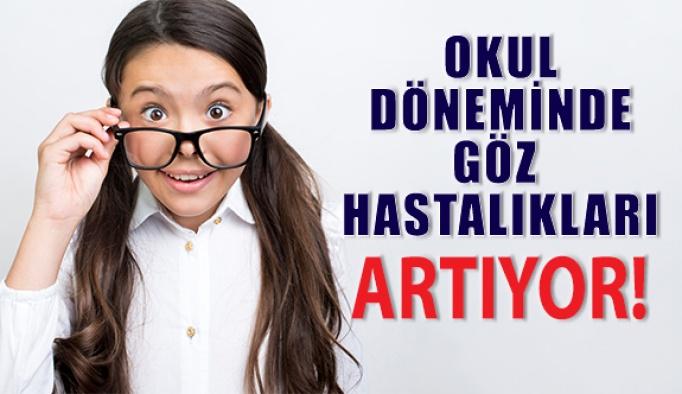 Göz Hastalıkları Okul Döneminde Artıyor!