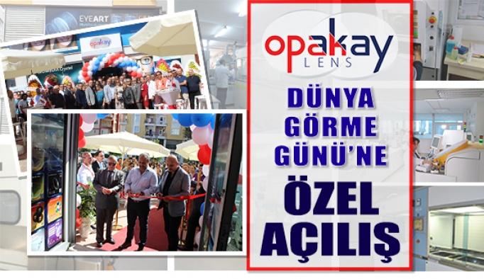 Opakay'dan 10 Ekim Dünya Görme Günü'ne Özel Açılış