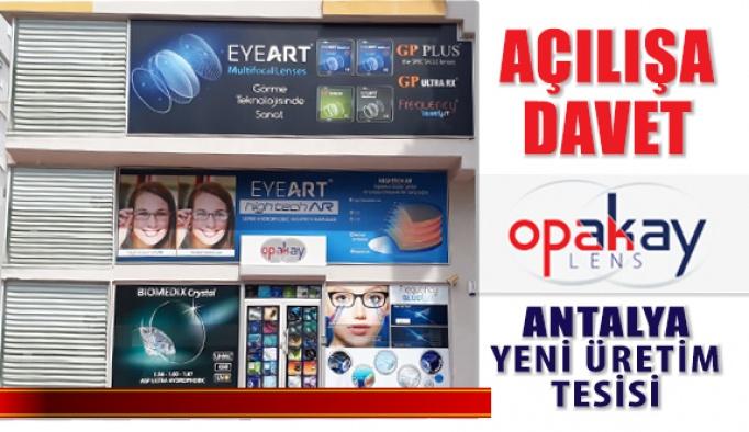 Opakay Yeni FreeForm Üretim Tesisi Antalya'da Açılıyor
