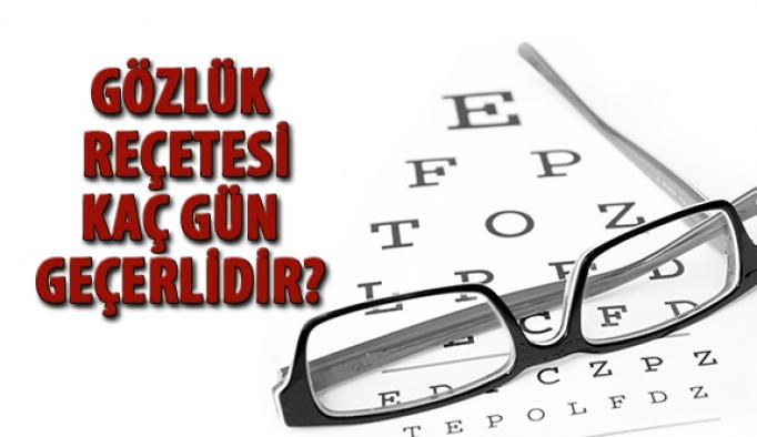 Gözlük Reçetesi Kaç Gün Geçerlidir?