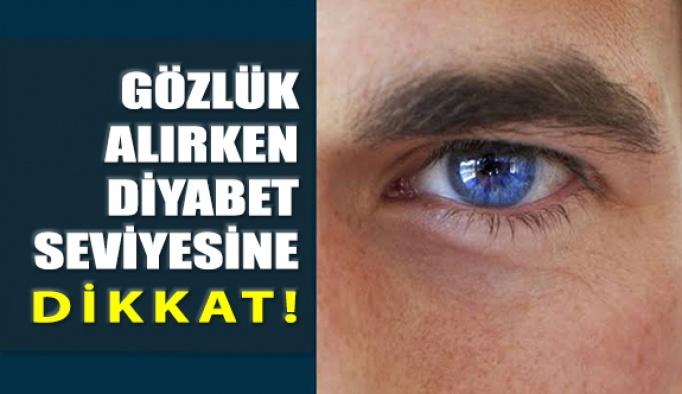 Gözlük Alırken Diyabet Seviyesine Dikkat Edilmeli