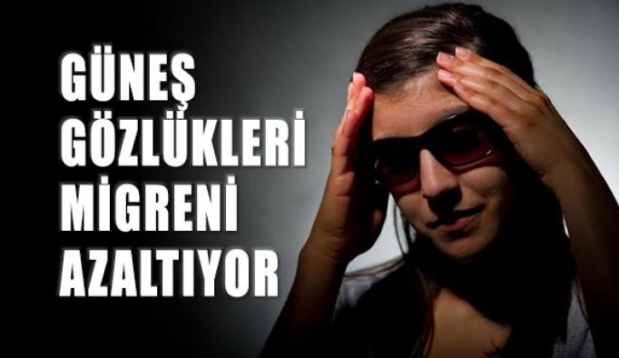 Güneş Gözlükleri Migreni Azaltıyor