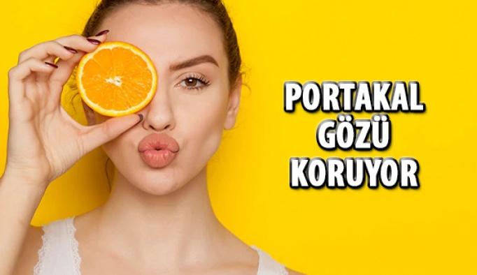 Portakal Göz Sağlığını Koruyor!
