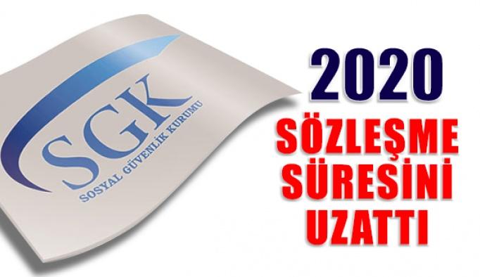 Sgk 2020 Sözleşme Süresini Ocak Sonuna Kadar Uzattı