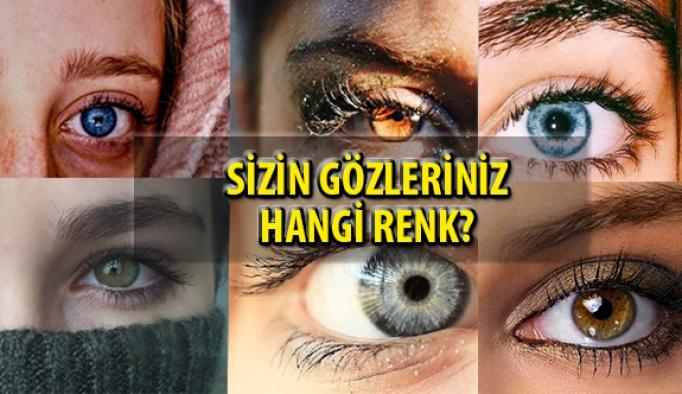 Dünya Genelinde Göz Rengi Dağılımı