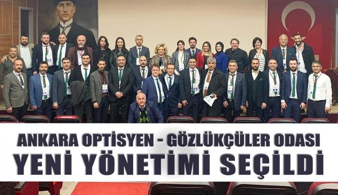 Ankara Optisyen - Gözlükçüler Odası Seçimi Yapıldı